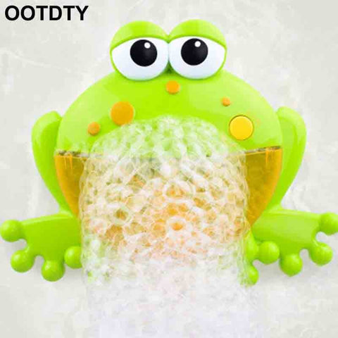 Frog Bubble Maker For Kids For The Bath - hushabyebaby-co-uk
