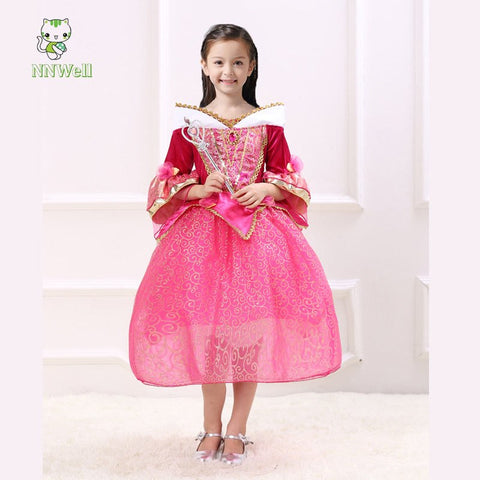Girl's Princess  Party Dress - Hushabyebaby.co.uk