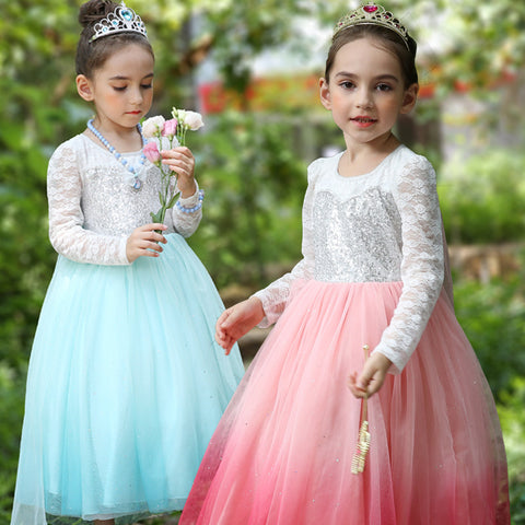 Girl's Princess Luxury Dress - Hushabyebaby.co.uk