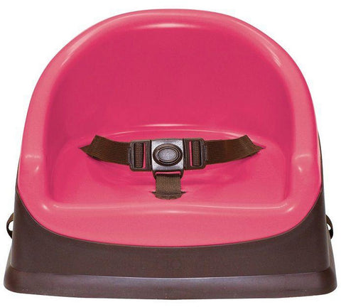 Booster Pod  Chocolate/Fuchsia - Hushabyebaby.co.uk