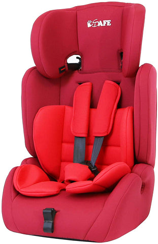 iSafe Value Comfort Baby Car Seat Group 123 Junior Trio Booster Seat - Hushabyebaby.co.uk