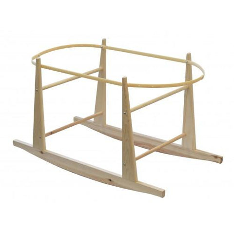 Compatible Rocking Moses Stand - Natural - hushabyebaby-co-uk