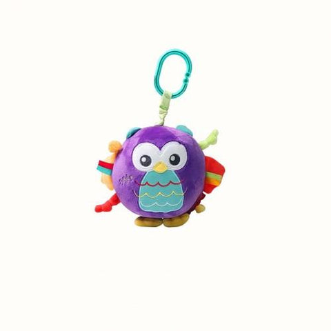 Rolly Polly Jingle Ball Owl by Fisher Price Woodland - hushabyebaby-co-uk.myshopify.com
