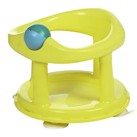 New Style Swivel Bath Seat Lime - hushabyebaby-co-uk