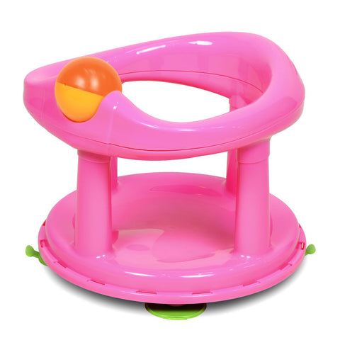 New Style Swivel Bath Seat Pink by Safety 1st - Hushabyebaby.co.uk