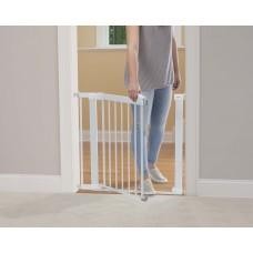 Safety 1st metal gate flat step - White - Hushabyebaby.co.uk