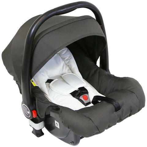 iVogue Car Seat Group 0+ - Silver Shadow - Hushabyebaby.co.uk