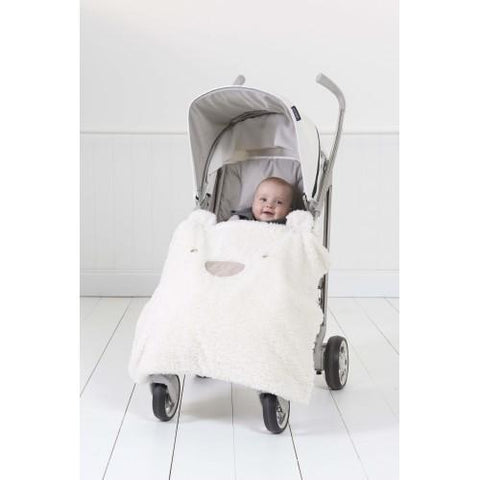 Silver Cloud Travel Teddy Bear Blanket - Hushabyebaby.co.uk