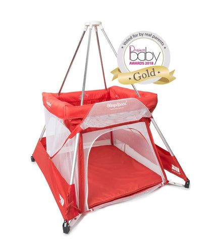 Babyhub Sleepspace - Red - Hushabyebaby.co.uk