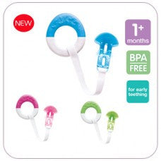 MAM Starter and Clip Teether - Hushabyebaby.co.uk