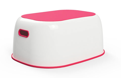 Prince Lionheart Step Stool Flashbulb Fuchsia - Hushabyebaby.co.uk