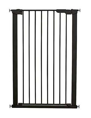 XL Tall Pet Gate - Black by Baby Dan - Hushabyebaby.co.uk