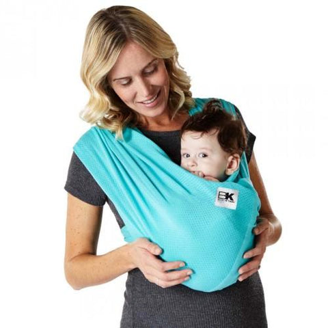 Baby K'Tan Breeze Mesh Carrier - Teal - Size Medium - Hushabyebaby.co.uk