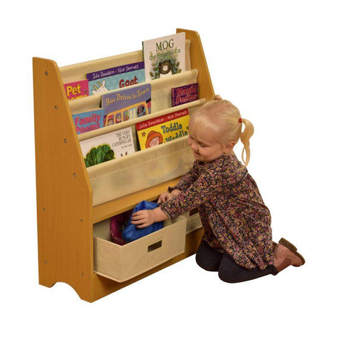 TikkTokk Toy Storage Unit with two bins - Hushabyebaby.co.uk