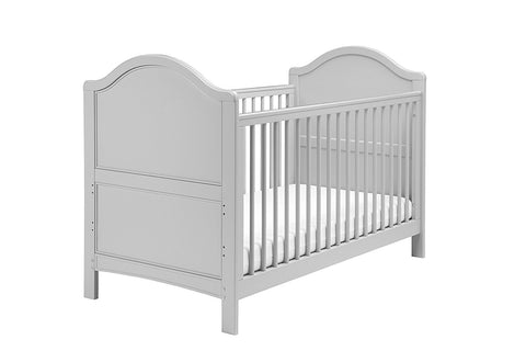 East Coast Nursery Cotbed Toulouse - French Grey - Hushabyebaby.co.uk