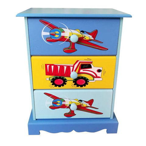 Transport - Three Drawer Storage - Hushabyebaby.co.uk