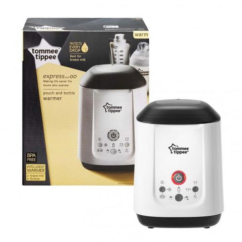 Tommee Tippee Express And Go Bottle and Pouch Warmer - Hushabyebaby.co.uk
