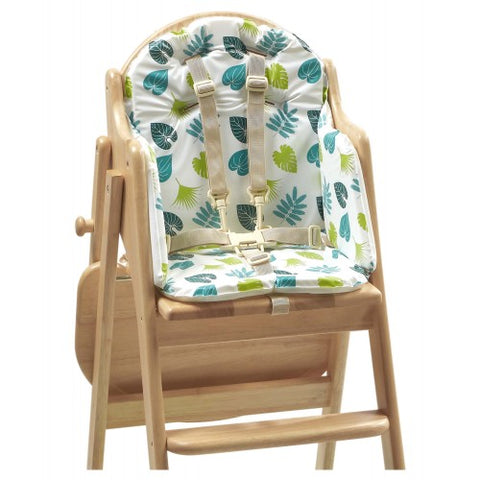 EAST COAST NURSERY HIGHCHAIR INSERT TROPICAL FRIENDS - Hushabyebaby.co.uk