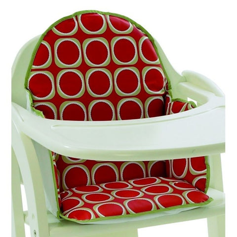 East Coast Nursery Highchair Insert Cushion Watermelon - Hushabyebaby.co.uk