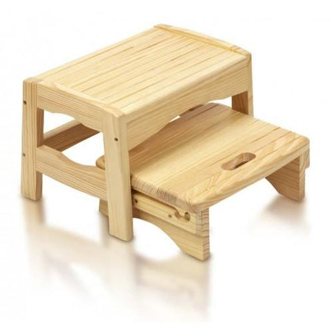 Safety 1st Wooden Two Step Stool - Hushabyebaby.co.uk