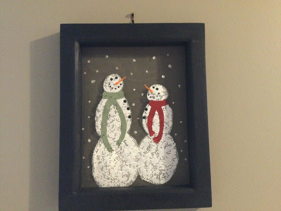 "Wall hanging - ""Let it Snow"""