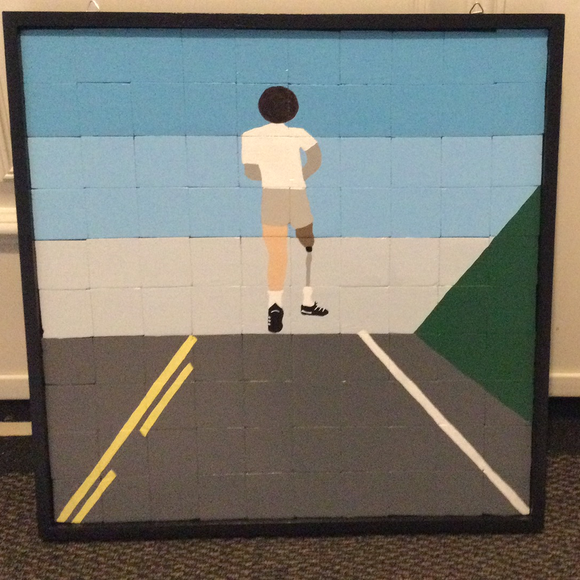 Barn Quilt - Terry Fox