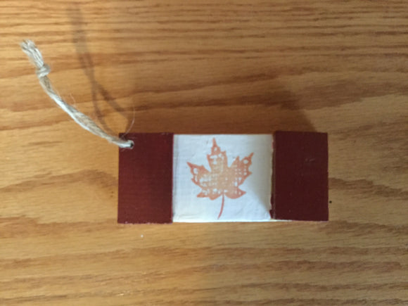 Christmas Ornament - Canadian Flag