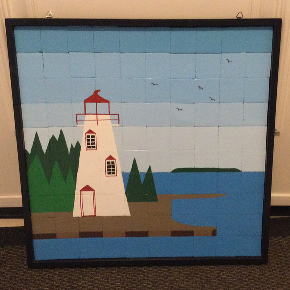 Barn Quilt - Tobermory Lighthouse