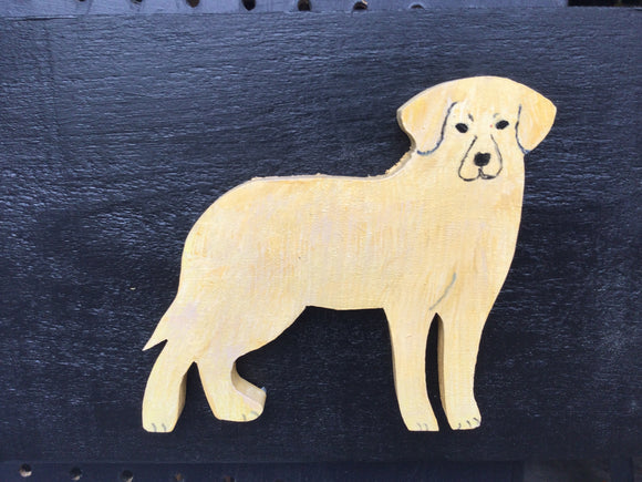 "Hanging Garden Ornament - ""Old Yeller"""