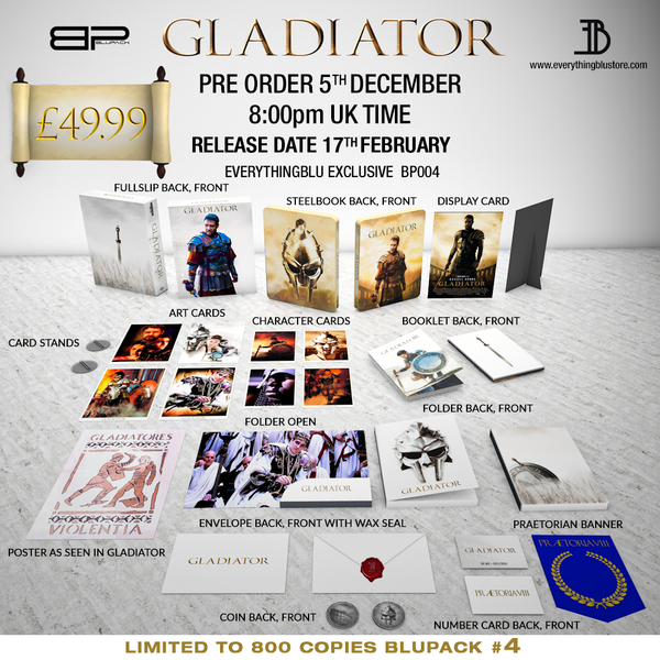 gladiator bluray collectors edition