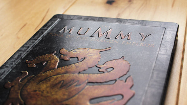 "EverythingBlu - BPS 002: The Mummy Trilogy Blu-ray SteelBook ""Book Of The Dead"" Collectors Edition"