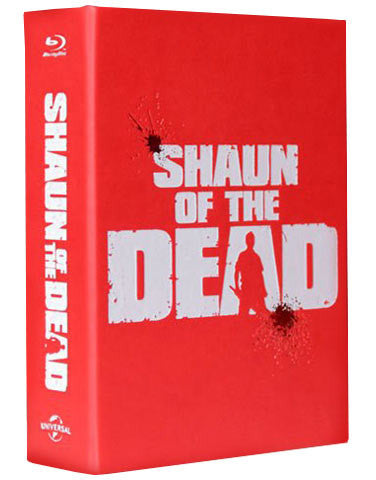 (EE 001) Shaun of The Dead Blu Box SteelBook Package (Includes Full Slip & Lenticular Editions)