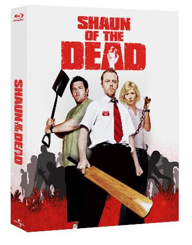 shaun of the dead lenticular bluray steelbook