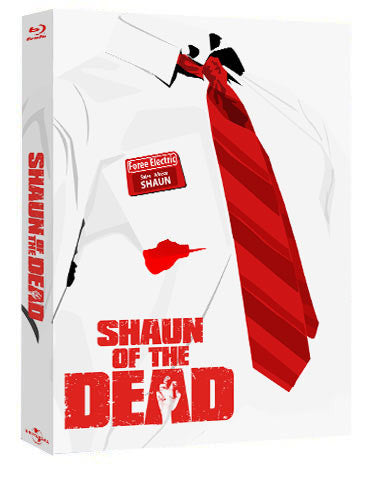 (EE 001) Shaun of The Dead Full Slip Blu-ray SteelBook
