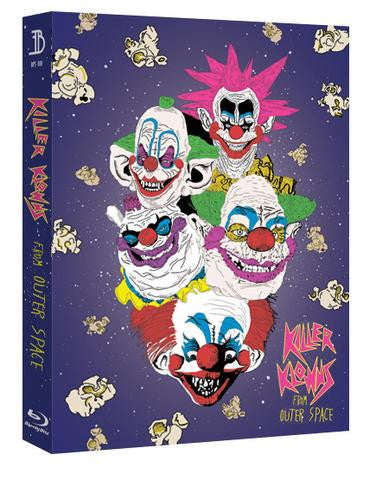 EverythingBlu - Blu Pick Series 001 Killer Klowns from Outer Space Blu-ray SteelBook Full Slipcase