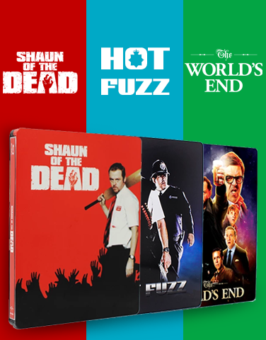 (EE 002) EverythingBlu Exclusive 002: Hot Fuzz Blu-ray SteelBook