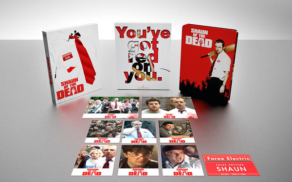 (EE 001) Shaun of The Dead Blu-ray SteelBook Collector's Edition (Blu Box)