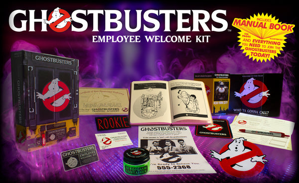 ghostbusters doctor collector new employee kit