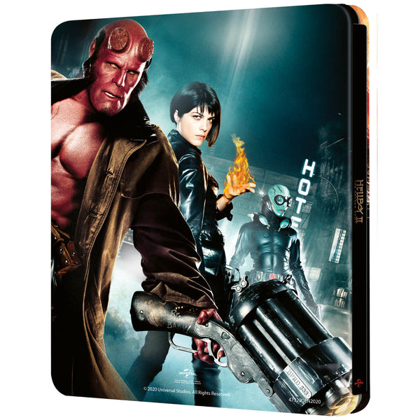 BluPack™ 006: Hellboy II 4K + 2D Blu-ray SteelBook EverythingBlu Exclusive
