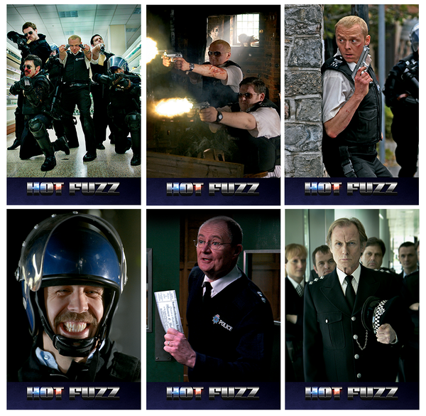(EE 002) EverythingBlu Exclusive 002: Hot Fuzz Lenticular Hard Box Blu-ray SteelBook
