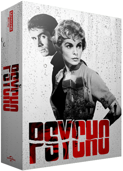 psycho 60th anniversary 4k blu ray steelbook