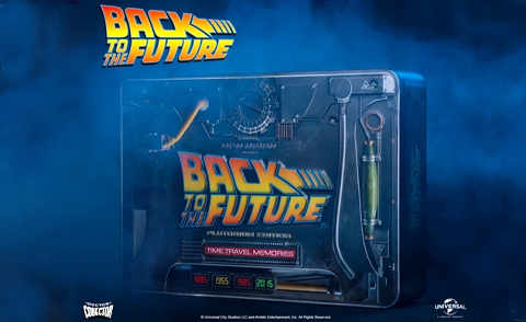 back to the future kit doctor collector