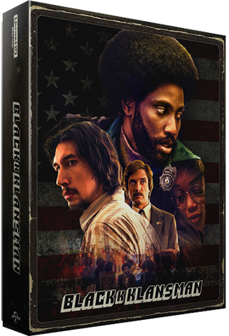blackkklansman 4k bluray steelbook