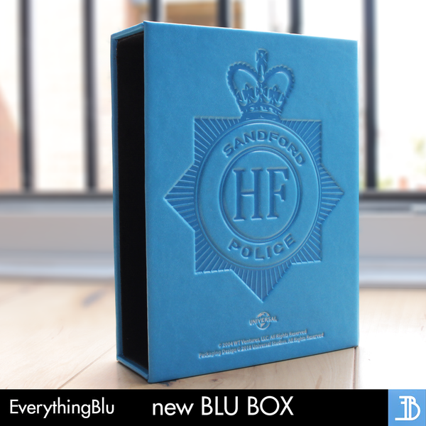 (EE 002) EverythingBlu Exclusive 002: Hot Fuzz Blu Box - Blu-ray Steelbook Collectors Edition