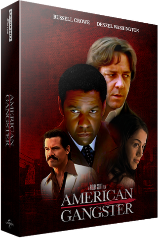 BluPick Series 009: American Gangster 4K + 2D Blu-ray SteelBook EverythingBlu Exclusive