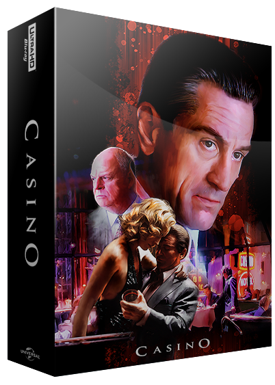 casino bluray steelbook 4k