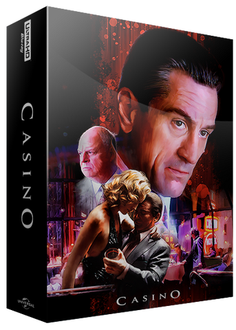 BluPack 003: Casino Blu-ray SteelBook 4K+BD+Bonus BD - EverythingBlu Exclusive