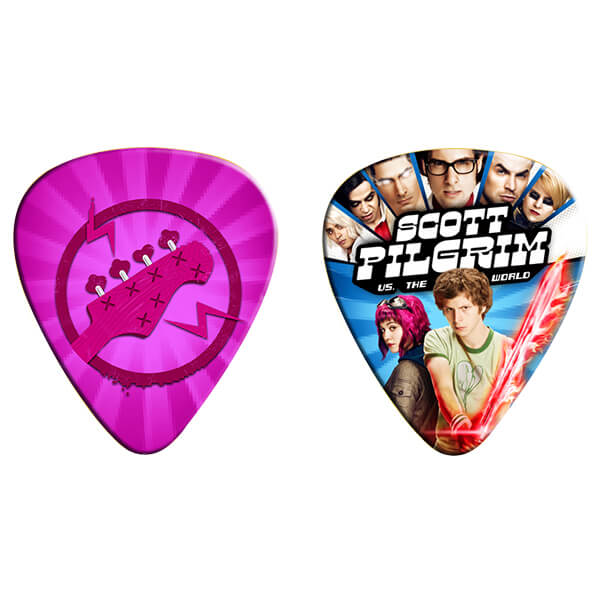 scott pilgrim vs the world guitar pick