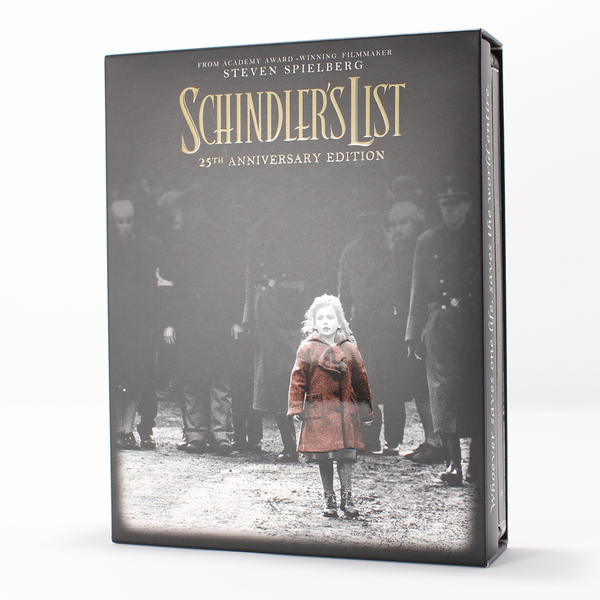 everythingblu bluray steelbook schindler list