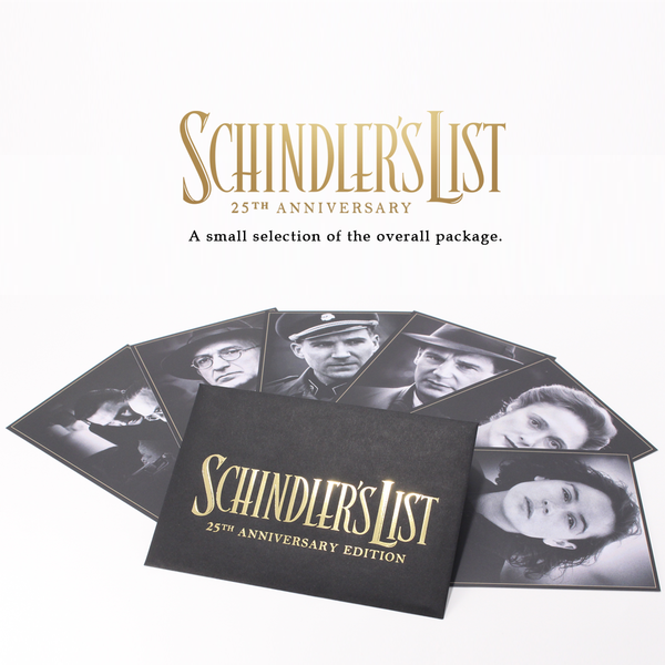 schindler's list 4k bluray steelbook